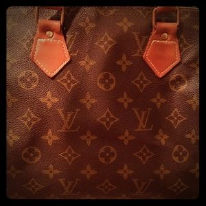 Louis Vuitton French Company Speedy 30 A/A- Cond